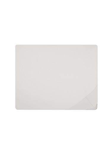 Hibboux 100x200x38 Milou Jersey Lastikli Çarşaf - White Beyaz